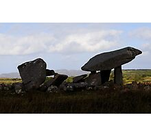 Kilclooney Dolmen, Co Donegal. Photographic Print