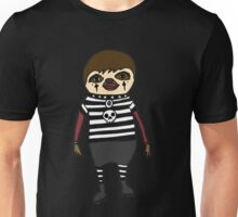 Cool Funky Goth Sloth Art Unisex T-Shirt