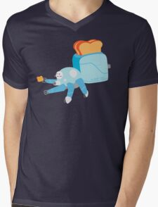 Toast in the Shell Mens V-Neck T-Shirt