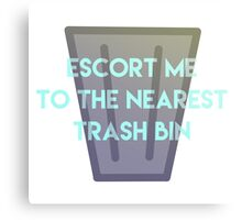 Absolute Trash Canvas Print