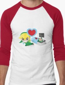 Dr. Link Men's Baseball ¾ T-Shirt