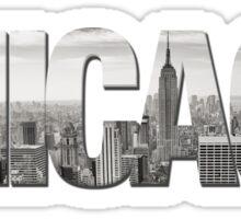 Chicago Wrong Skyline Sticker