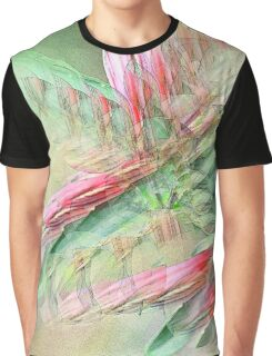 Flowers in abstract form Graphic T-Shirt