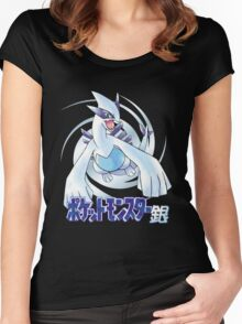 Pocket Monsters: Silver Women's Fitted Scoop T-Shirt