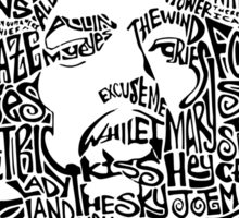 Jimi Hendrix - VooDoo Chile Sticker