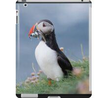 Atlantic puffin (Fratercula arctica) iPad Case/Skin