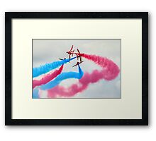 The Red Arrows Gypo Break 2 - Dunsfold 2014 Framed Print