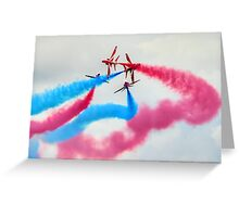 The Red Arrows Gypo Break 2 - Dunsfold 2014 Greeting Card