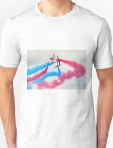 The Red Arrows Gypo Break 2 - Dunsfold 2014 Unisex T-Shirt