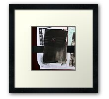 Opening in Black &... (à suivre) Framed Print