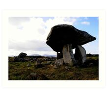Kilclooney Dolmen, Co Donegal. Art Print