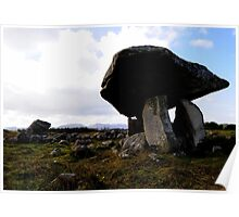 Kilclooney Dolmen, Co Donegal. Poster