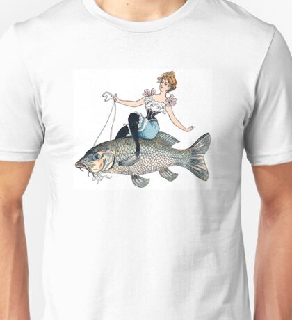 Image from a surreal Edwardian postcard Unisex T-Shirt