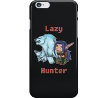 Lazy Hunter iPhone Case/Skin