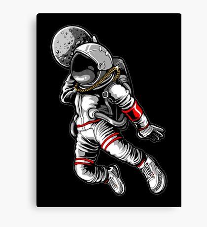 Astronout jam Canvas Print