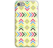 Colorful arrow pattern iPhone Case/Skin