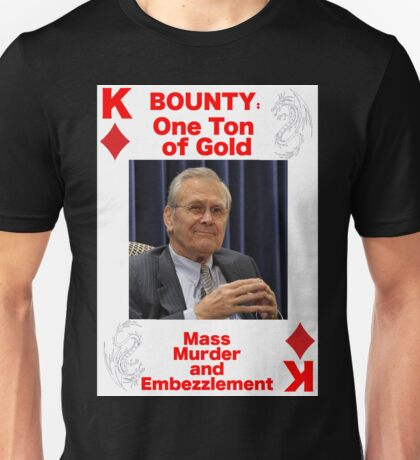 Wanted KING of DIAMONDS Unisex T-Shirt