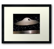 Lost in Space Spaceship Framed Print