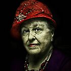 The Lady in the Red Hat by Scott Mitchell