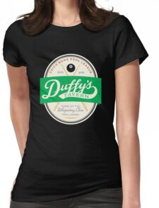 Duffy's Pool League Womens Fitted T-Shirt