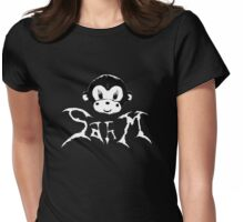SAHM Death Metal Monkey Womens Fitted T-Shirt
