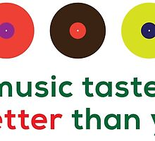 My music taste is better than yours II by ak4e