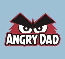 Angry Dad Kids Tee