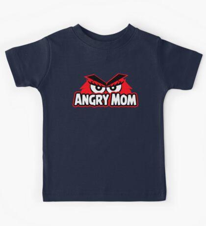 Angry Mom Kids Tee