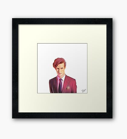 11th Doctor  Framed Print