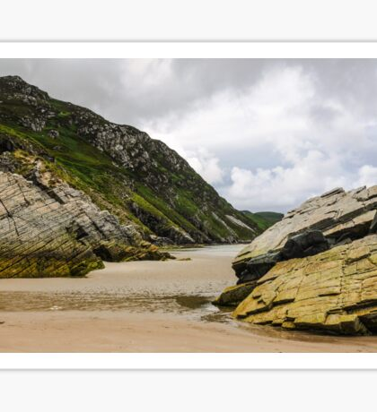 Rocks of Maghera Beach - Ireland #4 Sticker