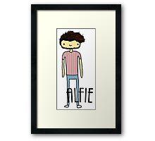 Alfie Deyes- The Pointless One Framed Print