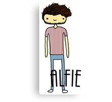 Alfie Deyes- The Pointless One Canvas Print
