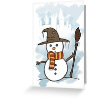 Gryffindor Christmas Card  Greeting Card