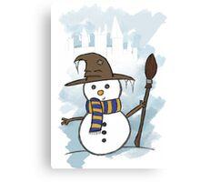 Ravenclaw Christmas Card  Canvas Print