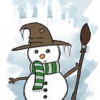 Slytherin Christmas Card  by Jess Nixon