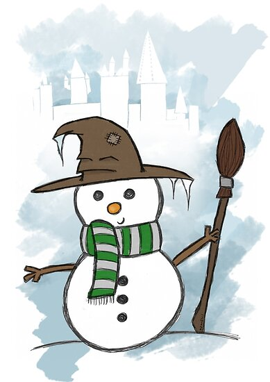Slytherin Christmas Card  by jessnnn