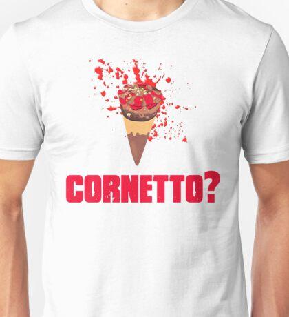 Cornetto? Shaun Of The Dead Unisex T-Shirt