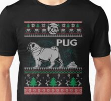 Ugly Pugs Christmas Dogs Rescue Birthday Gift Shirt Unisex T-Shirt