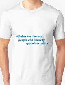 Atheists Appreciate T-Shirt