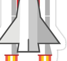 Rocket Space Shuttle Houston Sticker