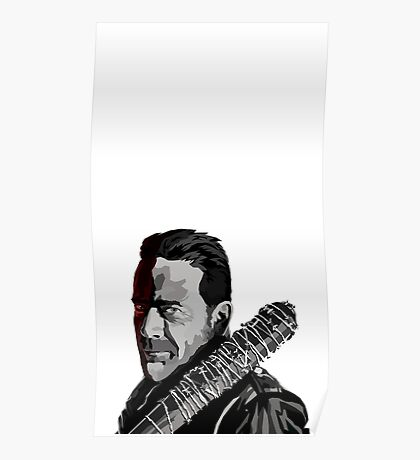 Negan and Lucille Poster
