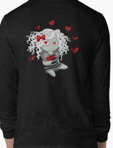 Loving doll giving her heart Long Sleeve T-Shirt