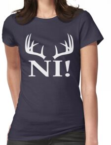 Monthy Python - Ni! Womens Fitted T-Shirt