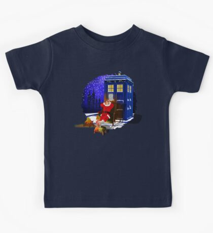 The Doctor Relax before Christmas Kids Tee