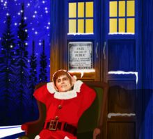 The Doctor Relax before Christmas Sticker