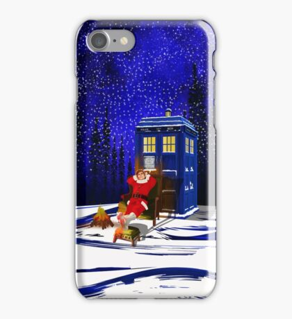 The Doctor Relax before Christmas iPhone Case/Skin