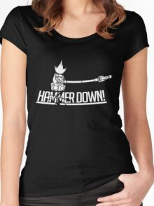 HAMMER DOWN! Women's Fitted Scoop T-Shirt