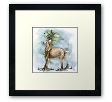 Painted Serenity Framed Print