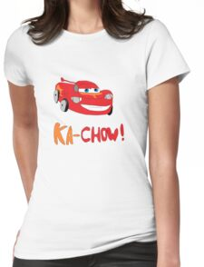 Ka-Chow! Womens Fitted T-Shirt