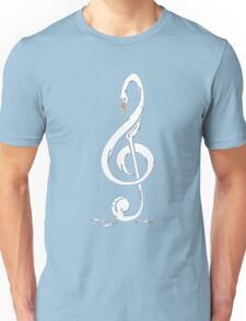 G-clef Swan Funny Unisex T-Shirt
